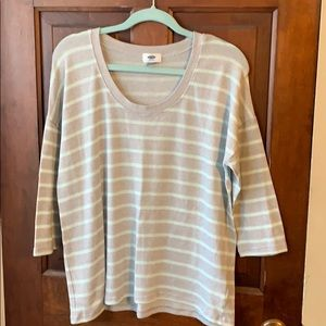 Old navy 3/4 length sleeve sweater